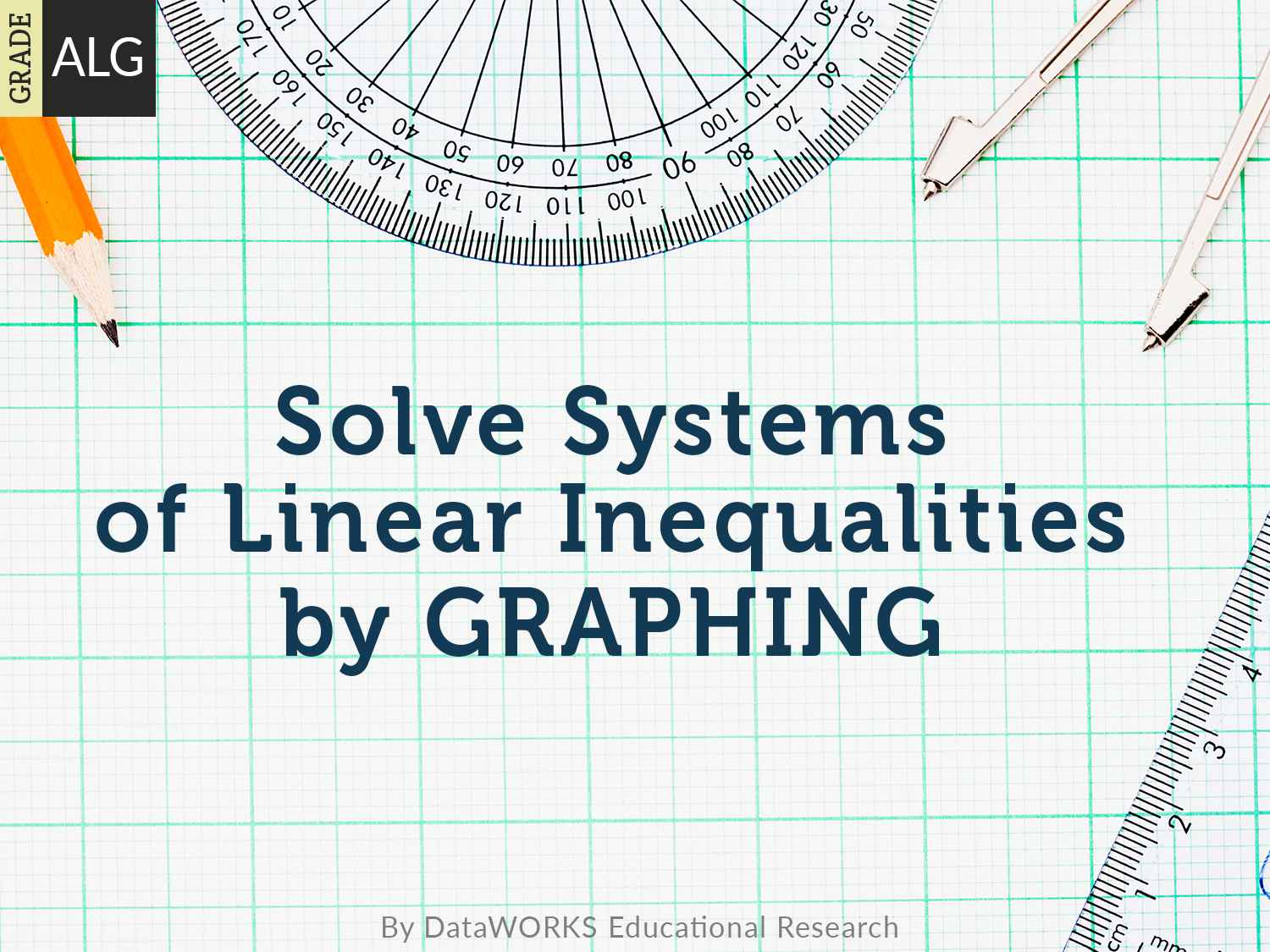 solve systems of linear inequalitiesgraphing  lesson