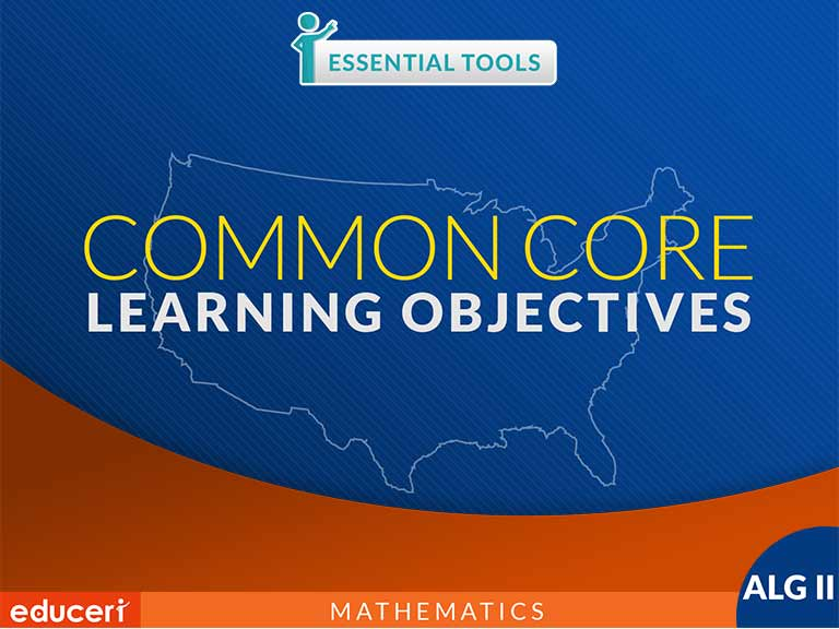 Geometry Common Core State Standards Learning Objectives